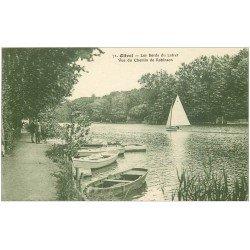 carte postale ancienne 45 OLIVET. Chemin de Robinson