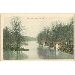 carte postale ancienne 45 OLIVET. Le Loiret en Aval du Pont