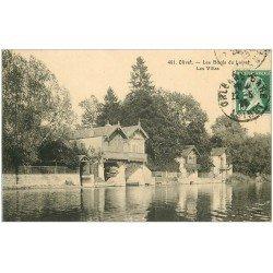 carte postale ancienne 45 OLIVET. Les Villas 1925