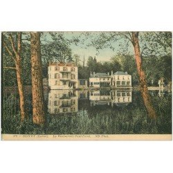 carte postale ancienne 45 OLIVET. Restaurant Paul Forêt