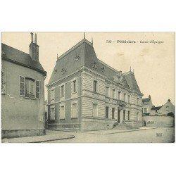 carte postale ancienne 45 PITHIVIERS. Caisse d'Epargne 1913