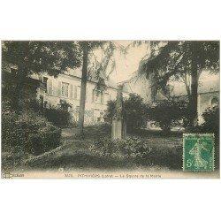 carte postale ancienne 45 PITHIVIERS. Square de la Mairie 1916