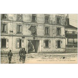 carte postale ancienne 02 CHATEAU-THIERRY. Place du Champ de Mars. Guerre 1914-18