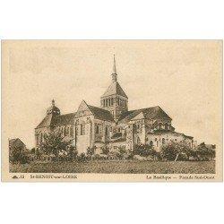 carte postale ancienne 45 SAINT-BENOIT-SUR-LOIRE. Basilique n°12