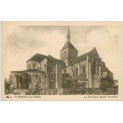 carte postale ancienne 45 SAINT-BENOIT-SUR-LOIRE. Basilique n°5
