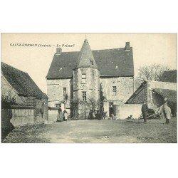 carte postale ancienne 45 SAINT-GONDON. Le Prieuré