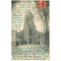 carte postale ancienne 45 SAINT-JEAN DE BRAYE. L'Eglise 1921