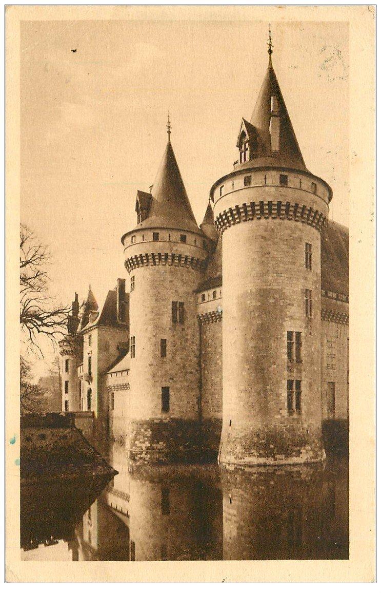 carte postale ancienne 45 SULLY-SUR-LOIRE. Château
