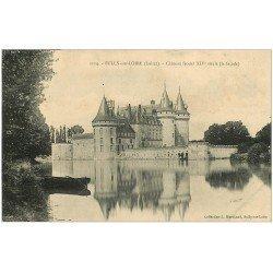 carte postale ancienne 45 SULLY-SUR-LOIRE. Château 1907