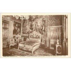 carte postale ancienne 45 SULLY-SUR-LOIRE. Château Chambre