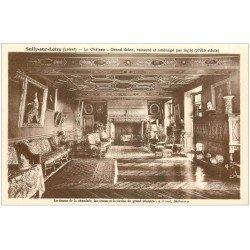 carte postale ancienne 45 SULLY-SUR-LOIRE. Château Cheminée