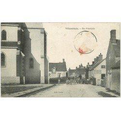 carte postale ancienne 45 VILLAMBLAIN. Rue Principale 1906