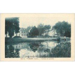 carte postale ancienne 45 VIMORY. Château de Lamotte