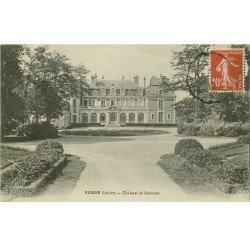 carte postale ancienne 45 BRIARE. Château de Beauvoir 1917