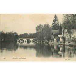 carte postale ancienne 45 OLIVET. Le Pont 1907