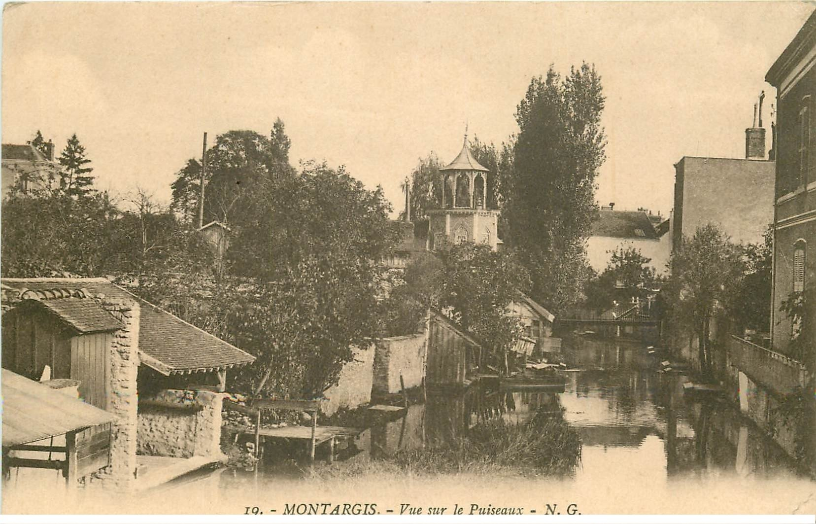 carte postale ancienne 45 MONTARGIS. Le Puiseaux