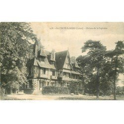 carte postale ancienne 45 LA FERTE SAINT-AUBIN. Château de la Popinière