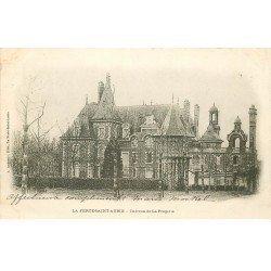 carte postale ancienne 45 LA FERTE SAINT-AUBIN. Château de la Frogerie 1904