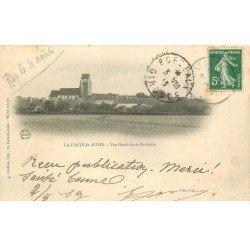 carte postale ancienne 45 LA FERTE SAINT-AUBIN. Vue générale 1913 (carte légèrement gondolée)...