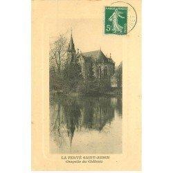 carte postale ancienne 45 LA FERTE SAINT-AUBIN. Chapelle du Château 1913