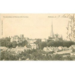 carte postale ancienne 45 PITHIVIERS. Vue panoramique 1903