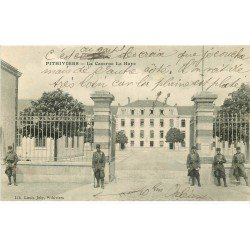carte postale ancienne 45 PITHIVIERS. Caserne La Haye Infanterie