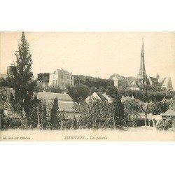 carte postale ancienne 45 PITHIVIERS. Vue générale 1925
