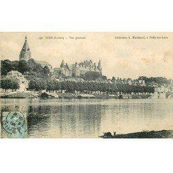 carte postale ancienne 45 GIEN. Vue générale 1906