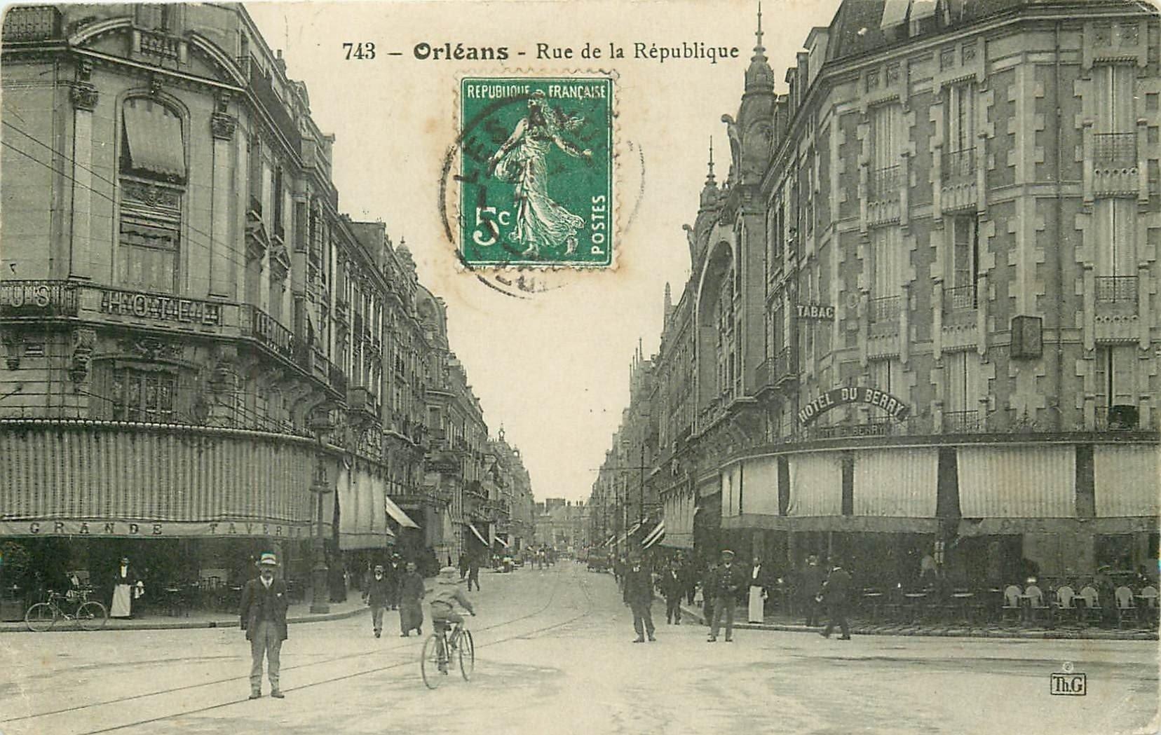 carte postale ancienne 45 ORLEANS. Lot intéressant de 10 CPA aux environs de 1910 n°1