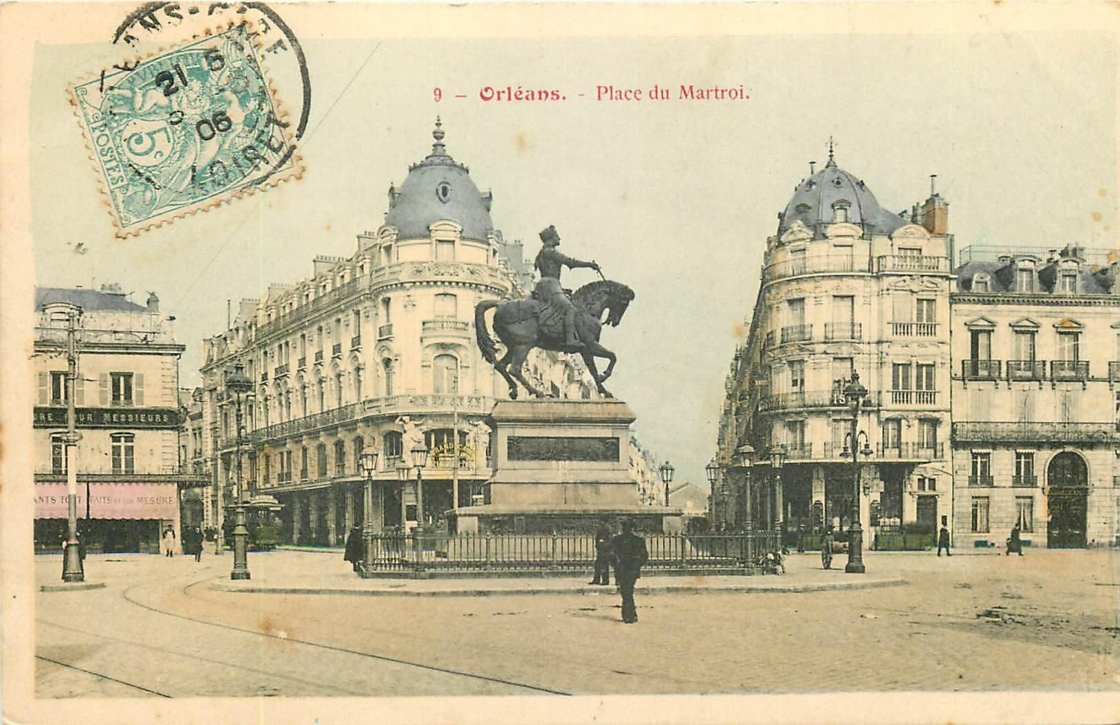 carte postale ancienne 45 ORLEANS. Lot intéressant de 10 CPA aux environs de 1910 n° 4