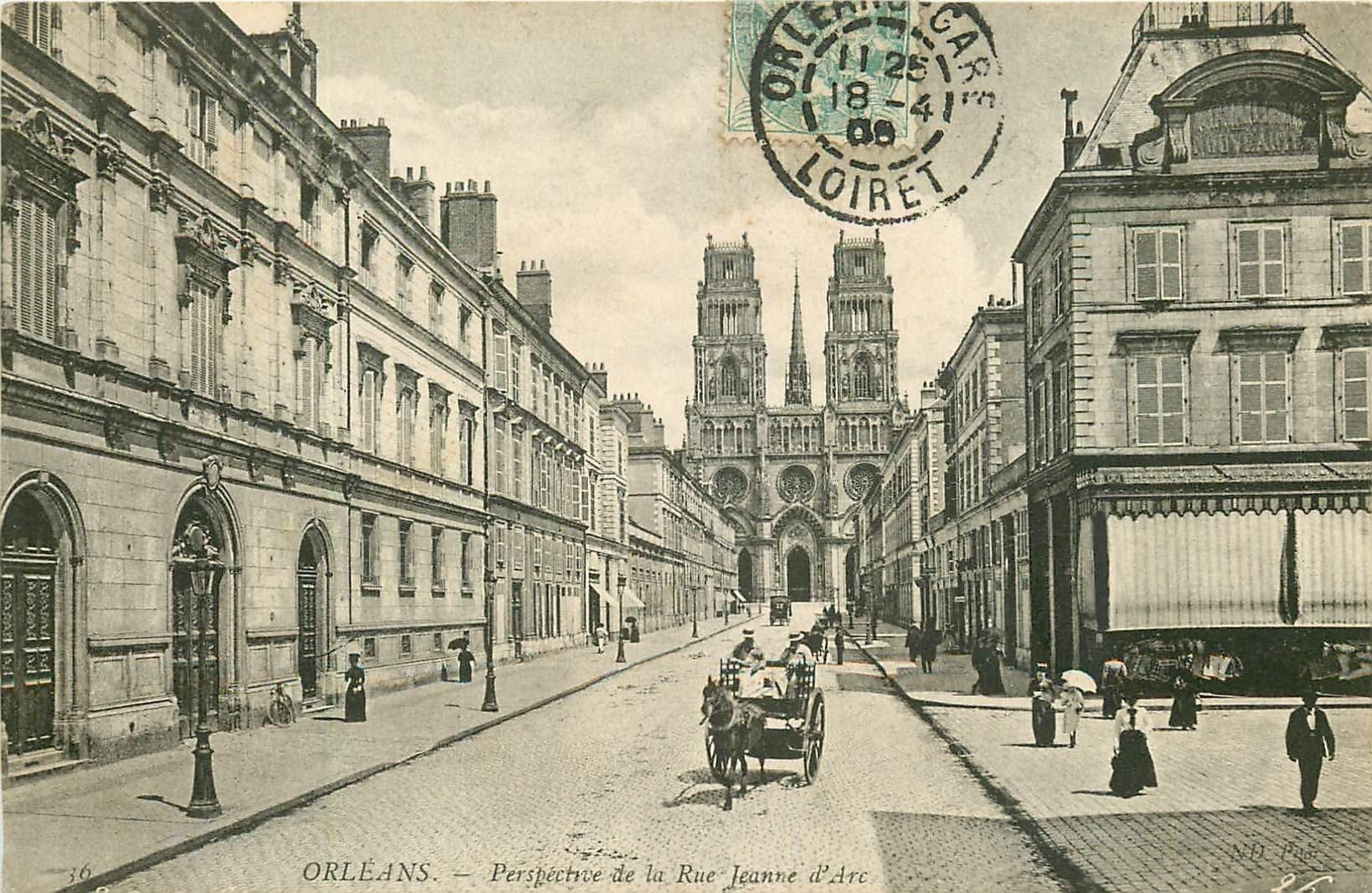 carte postale ancienne 45 ORLEANS. Lot intéressant de 10 CPA aux environs de 1910 n 7