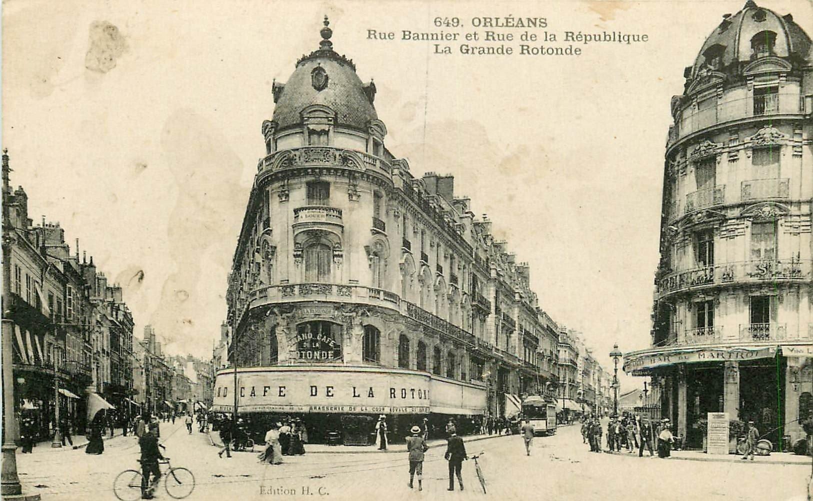 carte postale ancienne 45 ORLEANS. Lot intéressant de 10 CPA aux environs de 1910 n 13