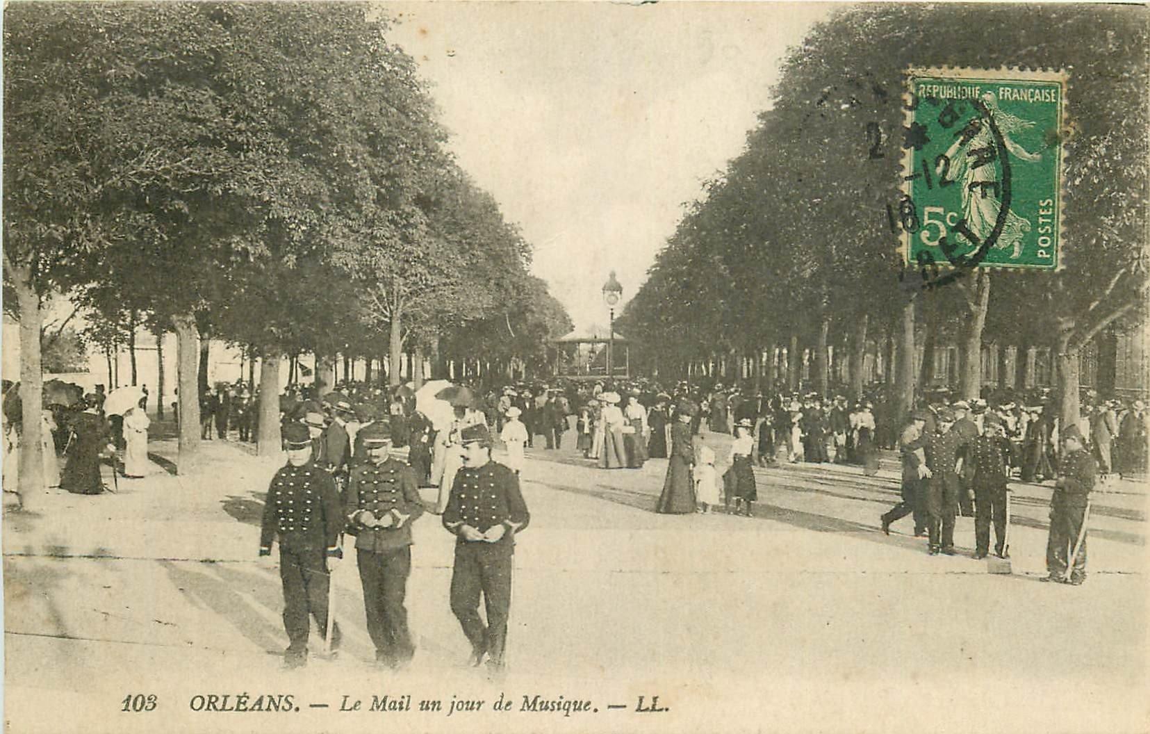 carte postale ancienne 45 ORLEANS. Lot intéressant de 10 CPA aux environs de 1910 n 15