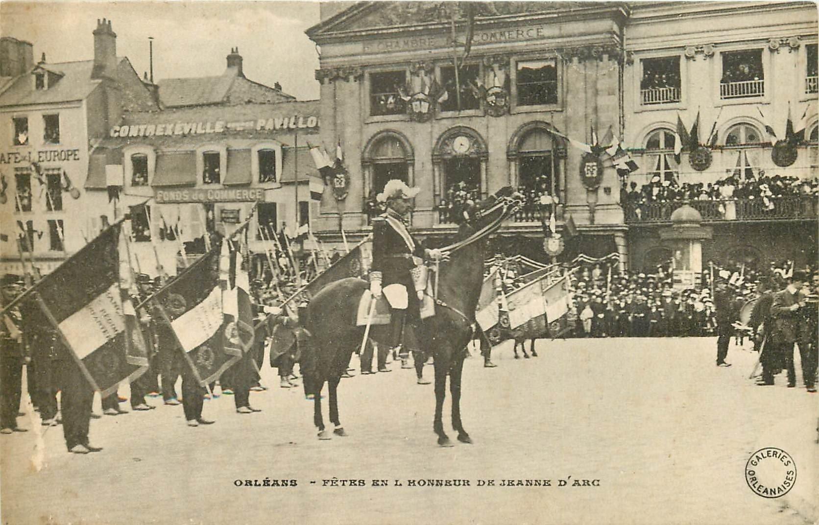 carte postale ancienne 45 ORLEANS. Lot intéressant de 10 CPA aux environs de 1910 n 20