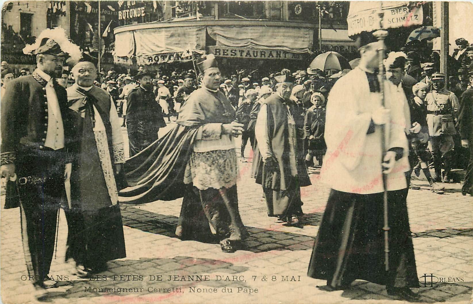 carte postale ancienne 45 ORLEANS. Lot intéressant de 10 CPA aux environs de 1910 n 22