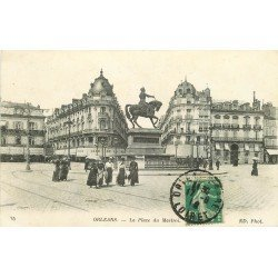 carte postale ancienne 45 ORLEANS. Lot intéressant de 10 CPA aux environs de 1910 n 25