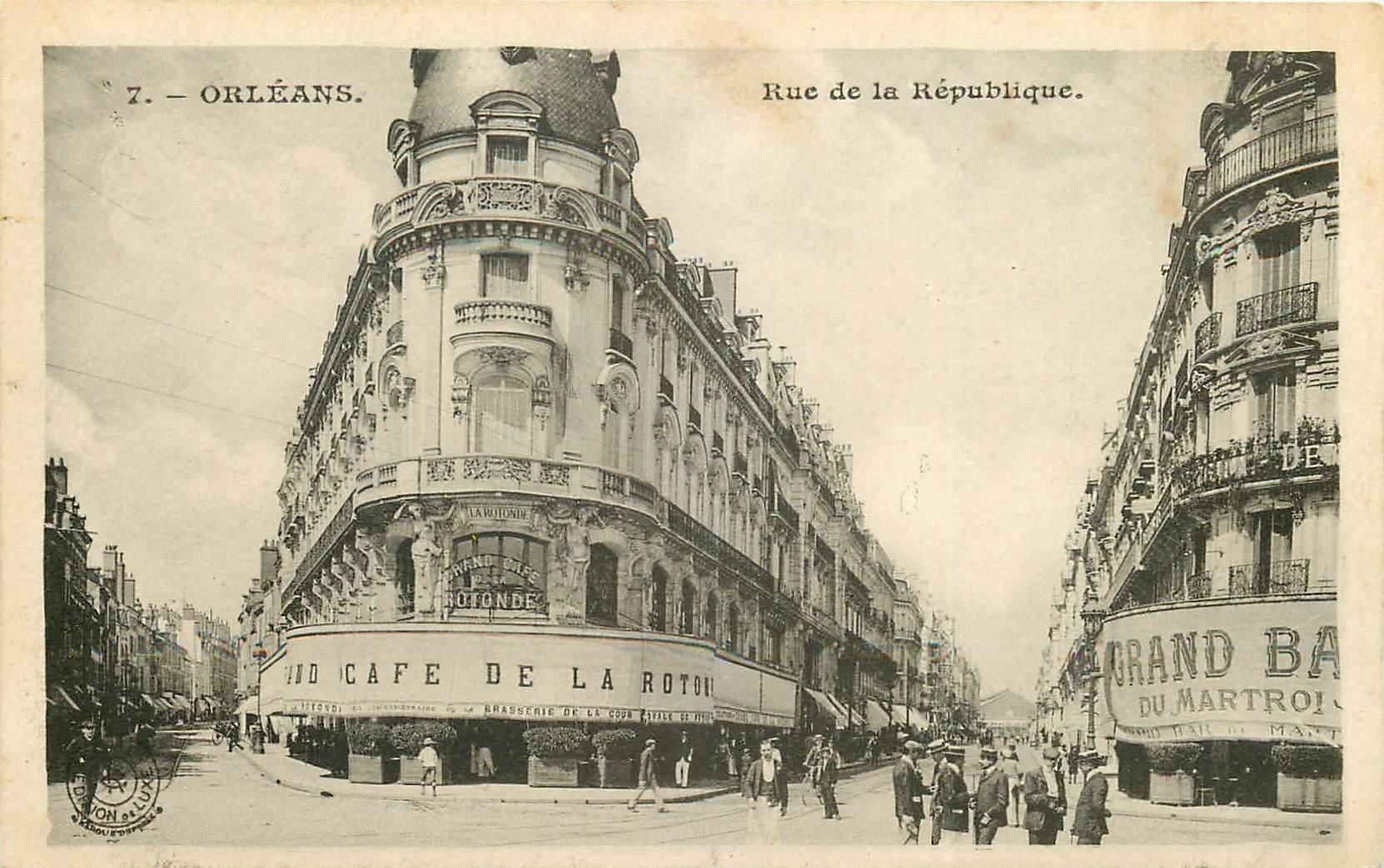 carte postale ancienne 45 ORLEANS. Lot intéressant de 10 CPA aux environs de 1910 n 26