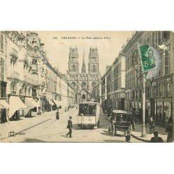 carte postale ancienne 45 ORLEANS. Lot intéressant de 10 CPA aux environs de 1910 n 31