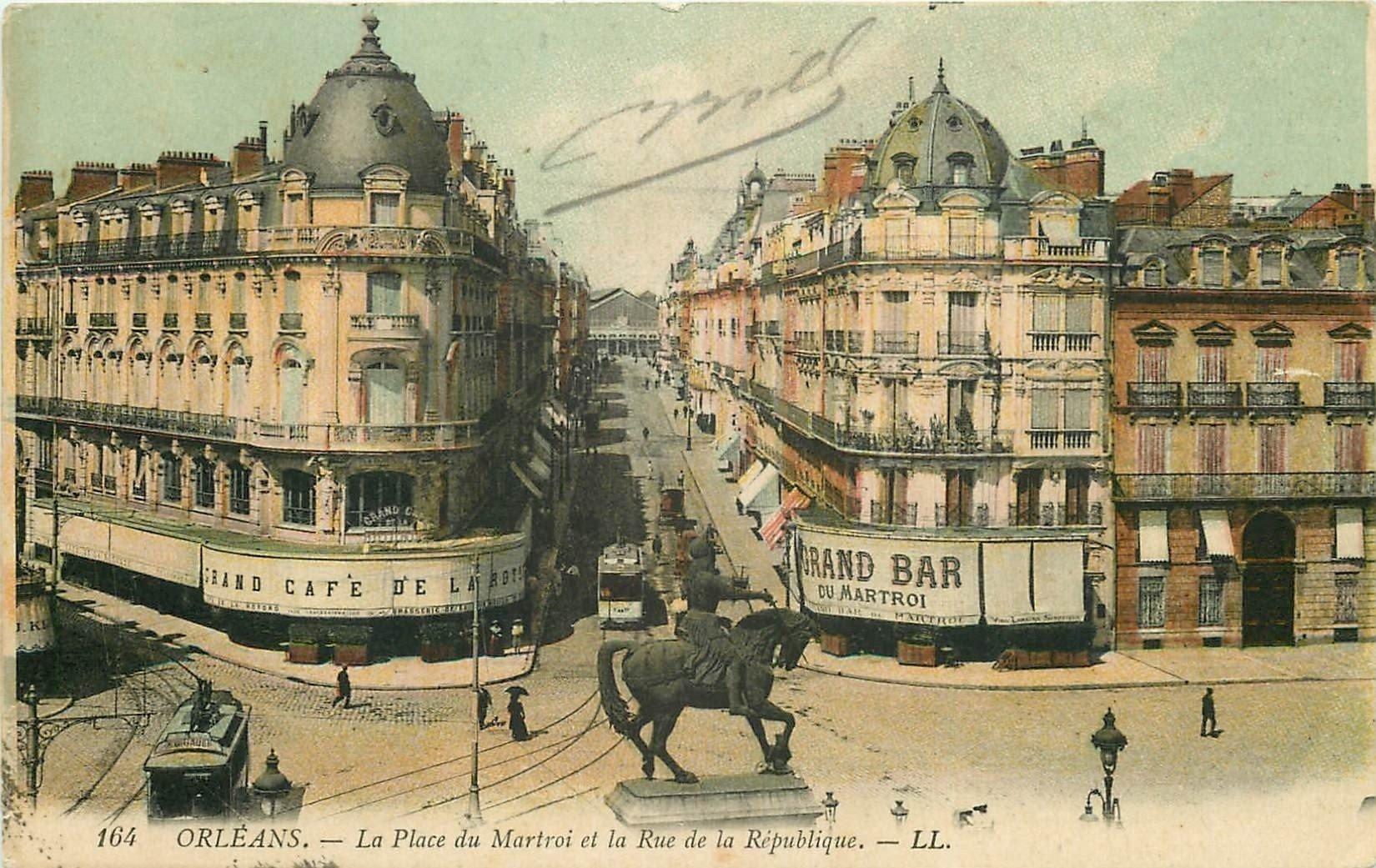 carte postale ancienne 45 ORLEANS. Lot intéressant de 10 CPA aux environs de 1910 n 40