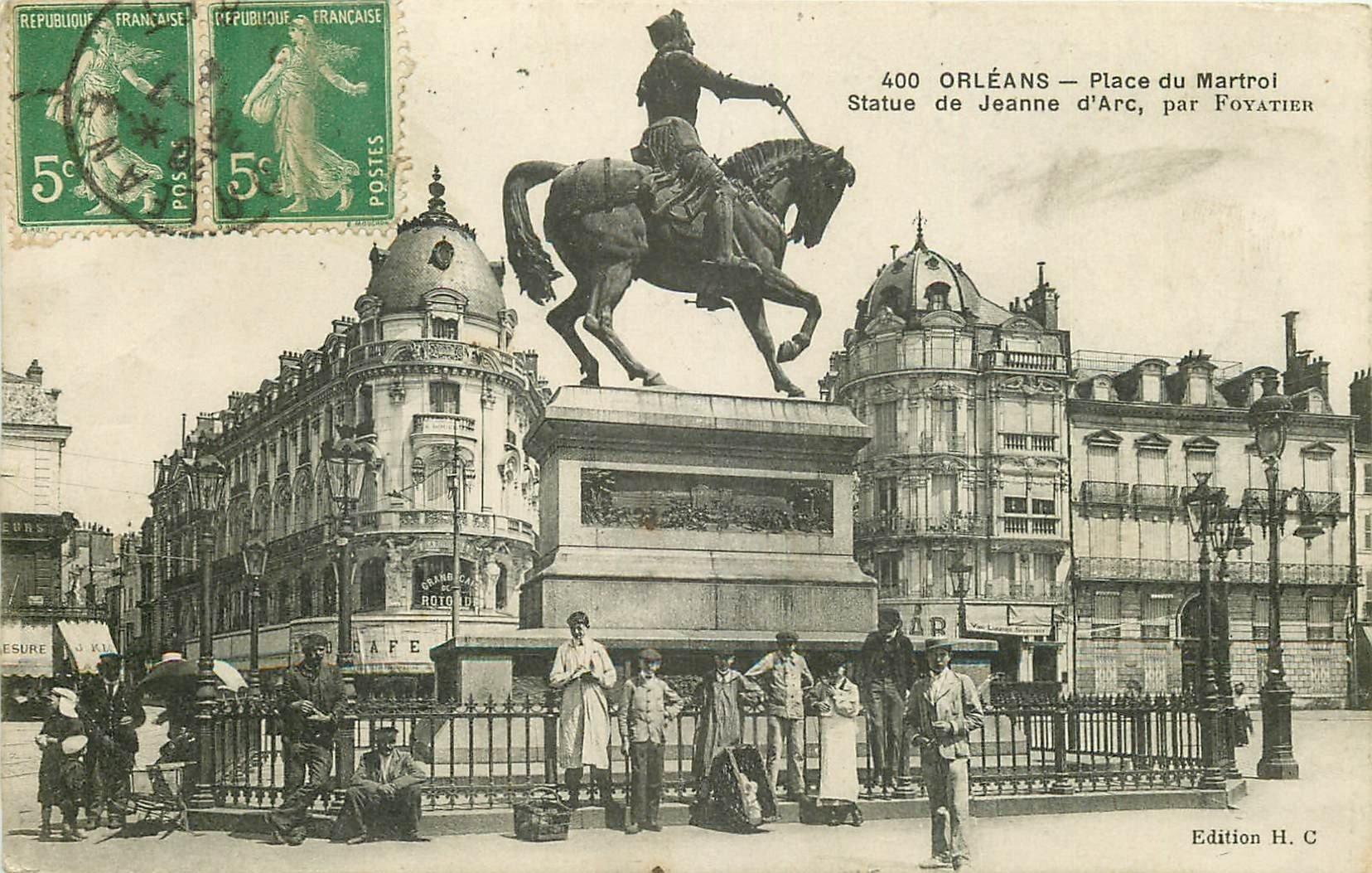 carte postale ancienne 45 ORLEANS. Lot intéressant de 10 CPA aux environs de 1910 n 41