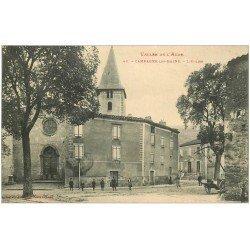carte postale ancienne 11 CAMPAGNE-LES-BAINS. L'Eglise