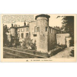 carte postale ancienne 64 BAYONNE. Château-Vieux n°53 sépia