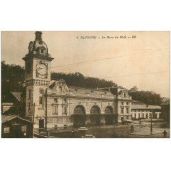 carte postale ancienne 64 BAYONNE. La Gare du Midi