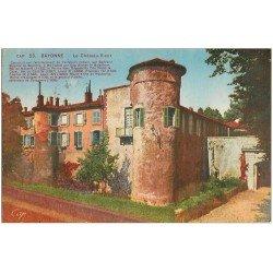 carte postale ancienne 64 BAYONNE. Le Château Vieux 1939