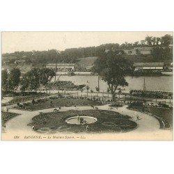 carte postale ancienne 64 BAYONNE. Le Nouveau Square 1922