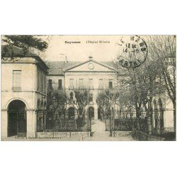 carte postale ancienne 64 BAYONNE. L'Hôpital Militaire 1915