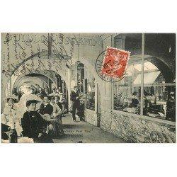 carte postale ancienne 64 BAYONNE. Maison Guillot-Durand Arceaux Port Neuf 1910
