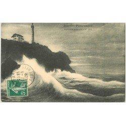 carte postale ancienne 64 BIARRITZ. Chambre d'Amour 1908