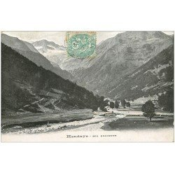 carte postale ancienne 64 HENDAYE. 1907 ses environs