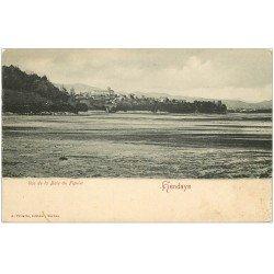 carte postale ancienne 64 HENDAYE. Baie du Figuier